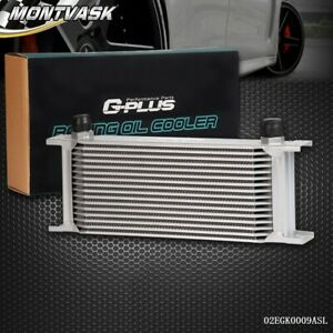 Gplus 16 Row An10 Universal Aluminum Engine Transmission Aluminum Oil Cooler Kit
