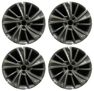 20 Acura Mdx 2017 2018 2019 Factory Oem Rim Wheel 71838 Machined Full Set