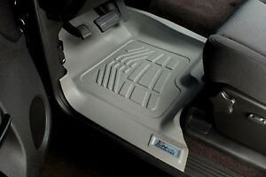 Front Sure Fit Floor Mats 2001 2006 Chevy Silverado Extended Crew Cab