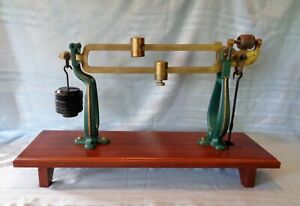 Antique Fairbanks Dormant Scale Top Only For Decor Or Steampunk