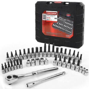 Craftsman 42 Piece 1 4 And 3 8 inch Drive Bit And Torx Bit Socket Wrench 99941