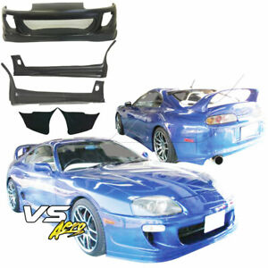 Frp Rido Body Kit 5pc Fits Toyota Supra Jza80 93 98 Vsaero