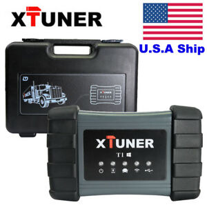 Usa Stock Xtuner T1 Heavy Duty Diesel Diagnostic Scanner Tool Truck Code Reader