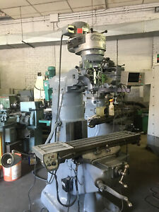 Bridgeport Milling Machine 1 Hp 9 X42 With Table