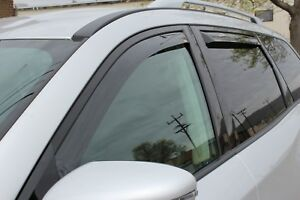 In channel Wind Deflectors For A 2013 2019 Nissan Pathfinder