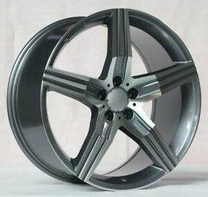 20 Wheels For Mercedes Cl class Cl550 Cl600 Cl63 Cl65 staggered 20x9 10