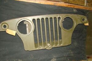 Kaiser Jeep Corp Pn 972275 1967 1971 V6 Jeepster Grill Nos