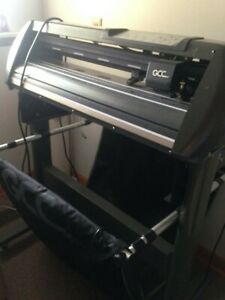 Gcc Jaguar Iv 24 Vinyl Cutter plotter With Basket With Rolling Stand