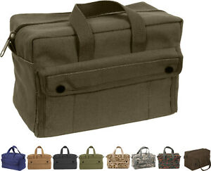 Heavy Duty Canvas Tool Bag Carry Tote Supplies Mechanics Work Military Tactical $16.99