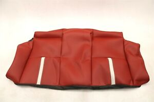 New Oem Ford Rear Seat Back Cover Orange Leather Br3z 7666600 Ec Mustang 2011 14