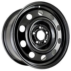 03670 New Compatible Steel Wheel Black 17in Fits Ford Crown Victoria 2006 2011