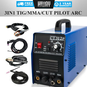 3 In 1 Cut tig mma Welder Welding Machine Plasma Cutter Pilot Arc Cnc 110 220v