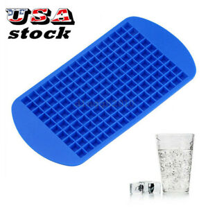 Ice Maker Mold 160 Grids Mini Small Ice Cube Tray Frozen Cubes Trays Silicone