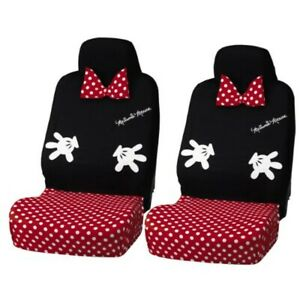 Bonform Front Car Seat Covers Disney Minnie Design 2000 12bk