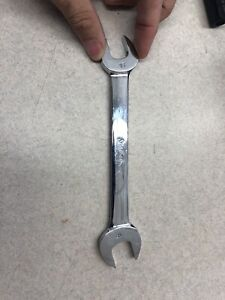 Snap On Vom1618 16mm X 18mm Metric Double Open End Wrench