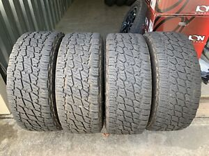 Set Of 4 Lt35x1250r18 Nitto Terra Grappler G2 At Tires 18r 12 50 R18 10ply E