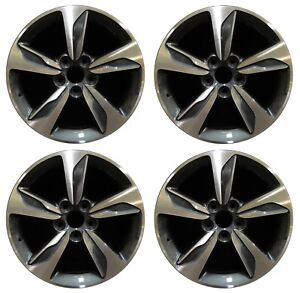 18 Honda Odyssey 2018 2019 Factory Oem Rim Wheel 64119 Charcoal Full Set