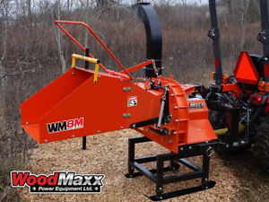 Woodmaxx Wm 8m Pto Wood Chipper With Auto Feed