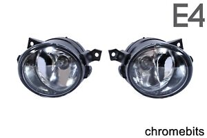 Clear Fog Lights Lamps Pair For Vw Amarok 2010 Vw Scirocco 2008 Vw Up 2011 E4