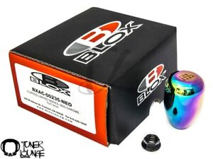 Blox Racing Neo Chrome Limited Shift Knob 6 Speed Type R Weighted 10x1 5mm