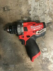 Milwaukee 2504 20 M12 12v Fuel Brushless 1 2 Hammer Drill Tool only Used 3