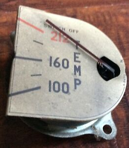 International Harvester Vintage Temperature Gauge