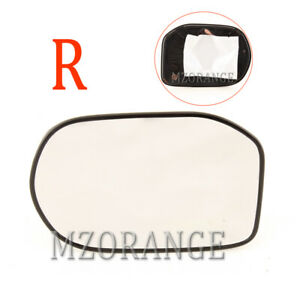 Right Rear View Mirror Glass For 2006 2011 Honda Civic Power Heating Passenger