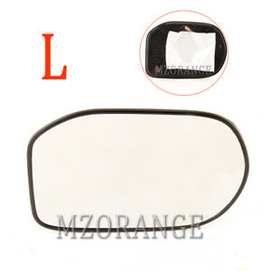 Left Driver Side Rear View Mirror Glass For 2006 2011 Honda Civic Power Heating