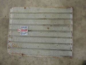 International Farmall 706 Front Radiator Grill Screen Nice Antique Tractor