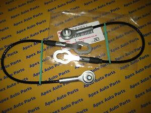 Toyota Tundra Rear Tailgate Cable W Clip And Bolt Washer Set 2 Oem 2004 2006