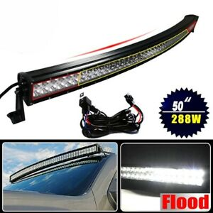 50 Curved Led Light Bar Pair Of Led Fog Lights