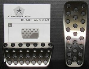 Dodge Charger Challenger Chrysler 300 Stainless Brake Gas Pedal Kit