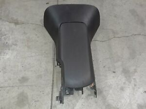 05 13 Corvette C6 Center Console Arm Rest With Lid Ebony Aa6455