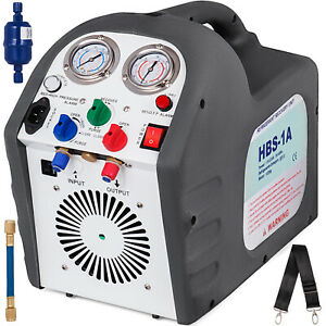 110v 60 Hz Portable Refrigerant Recovery Machine Reclaim Iec Connector Hvac