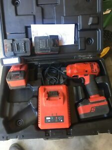 Snap On Ct8810 18v 3 8 Drive Cordless Impact Wrench W Boot Monster Lithium