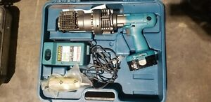 Makita Sc190d 1 8 3 4 Rebar Cutter W 2 6ah Battery Charger And Case