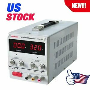 10a 30v Dc Power Supply Adjustable Dual Digital Variable Precision Lab To