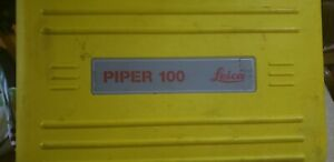 Leica Pipe Laser Piper 100 Calibrated Free Shipping