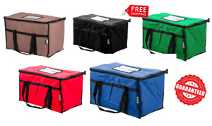 Insulated Catering Delivery Chafing Dish Food Full Pan Carrier Bag