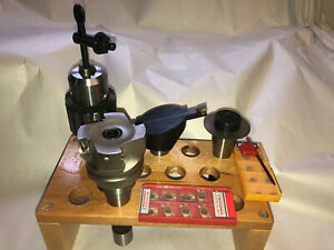 Bridgeport Milling Machine Tool Set Drill Slitting Fly Cutter Shell Millr8