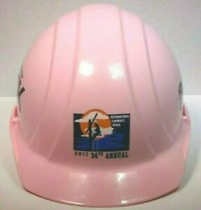 International Linemans Rodeo 2017 34th Annual Hard Hat Pink Collectible