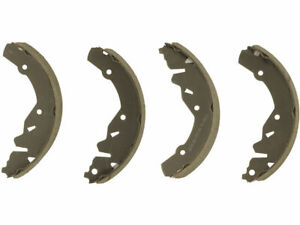 Rear Brake Shoe Set For 1985 1986 Dodge Omni Glh J812tg Drum Brake Shoe
