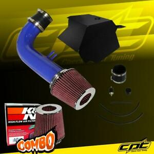 For 15 18 Vw Golf Gti 2 0l 2 0t Turbo Tsi Blue Cold Air Intake K