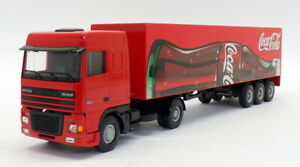 Lion Toys 1/50 Scale Model No.36 - DAF 95 XF Truck & Trailer - Coca Cola