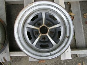 Oem Painted Magnum 500 Wheel 14 X 7 Dent Ford Mach One Torino Mustang Cougar Rim
