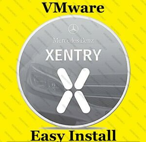 Vmware Mercedes Benz Star Diagnostic Xentry Program Das Wis Ewa Asra Tool C3 C4
