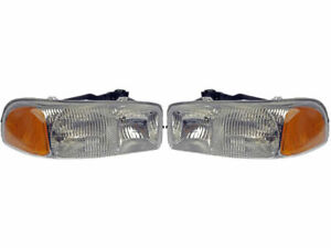 Headlight Assembly For 2001 2006 Gmc Sierra 2500 Hd 2005 2002 2004 2003 G943kt