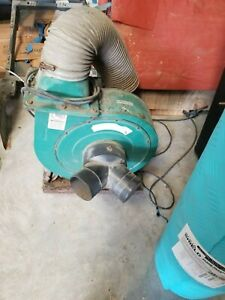 squirrel Cage Blower dust Collector Grizzly Induction Motor 2hp