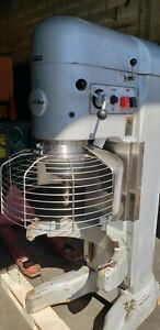 Hobart 140 Qt V1401 Mixer With Bowl Guard 5 Hp Bowl Excellent Working Con 1826