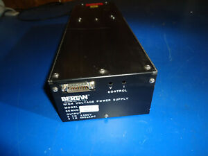Bertan 2554 2 High Voltage Power Supply Pulled From Working Environment